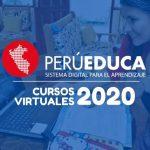cursos virtuales PerúEduca 2020