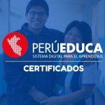 certificados perueduca